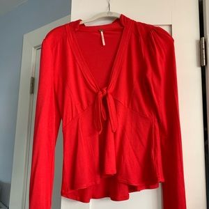 Free People never worn top- size S